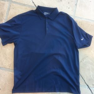 Nike Golf Tour Performance Dry Fit Men Polo Navy